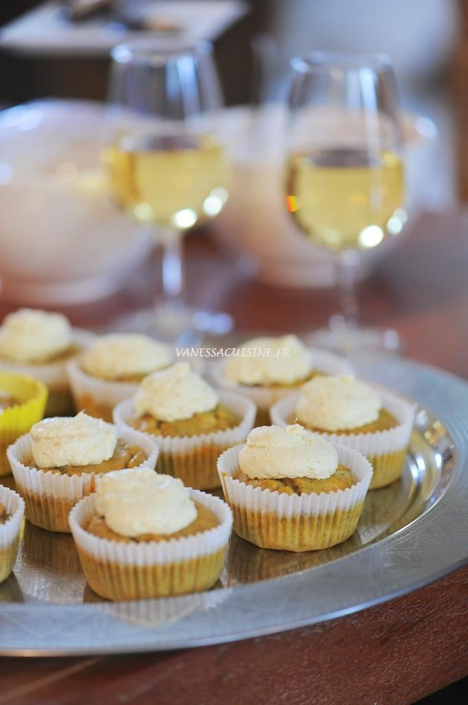 Cupcakes à la truite fumée et aneth (sans gluten) - Smoked trout cupcakes (gluten free) - Vanessa Romano photographie et stylisme culinaire