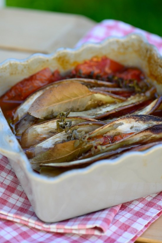 Tian provençal de légumes - Provençal vegetables Tian - Vanessa Romano-Photographe et styliste culinaire- 1