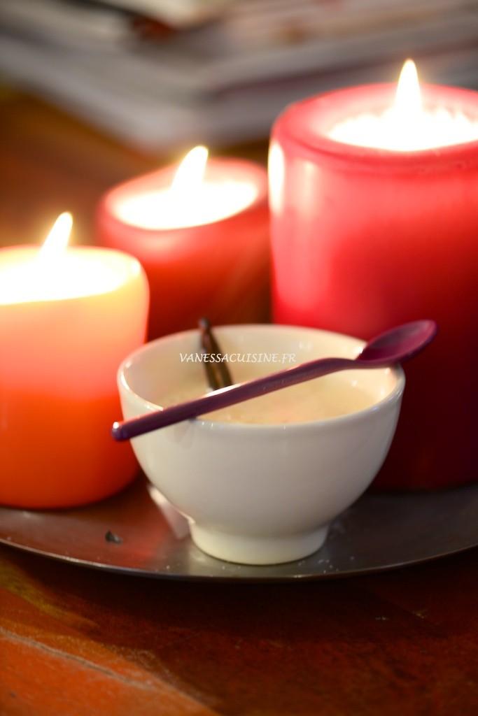 riz au lait d 39 amande et la vanille vanessa cuisine. Black Bedroom Furniture Sets. Home Design Ideas