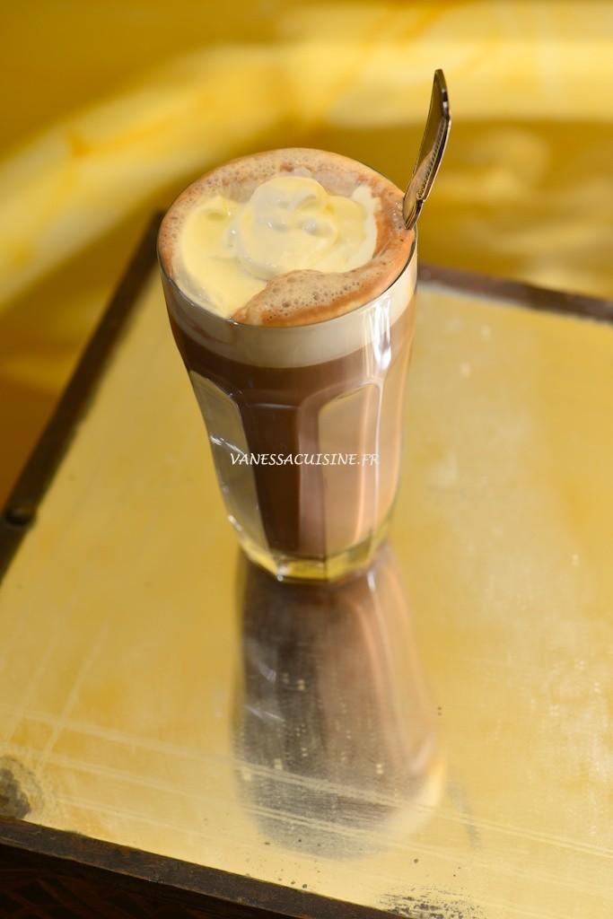 Chocolat viennois au lait de noisette - Whipped cream hot chocolate with nut milk  - Vanessa Romano photographe et styliste culinaire (1)