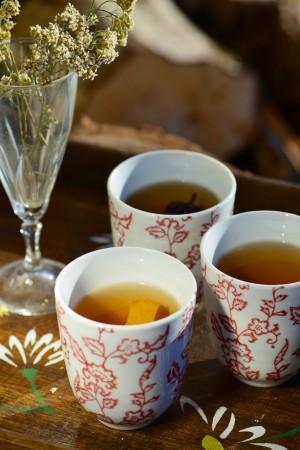 Thé vert aux épices douces et agrumes - Green tea with sweet spices - Vanessa Romano photographe et styliste culinaire (1)