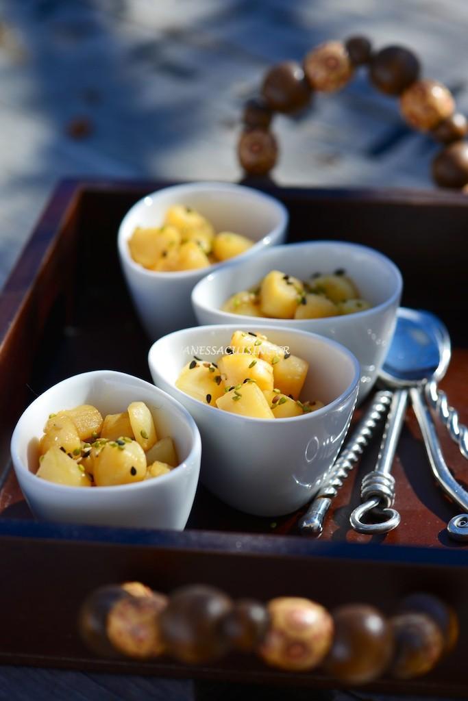 Pétoncles vapeur à l'huile de sésame et tamari - Steamed scallops with sesam oil and tamari - Le Vitaliseur - Vanessa Romano photographe et styliste culinaire (1)