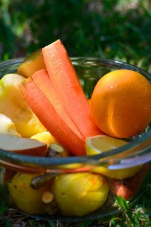 Fruits et légumes orange-  Vanessa Romano photographe et styliste culinaire