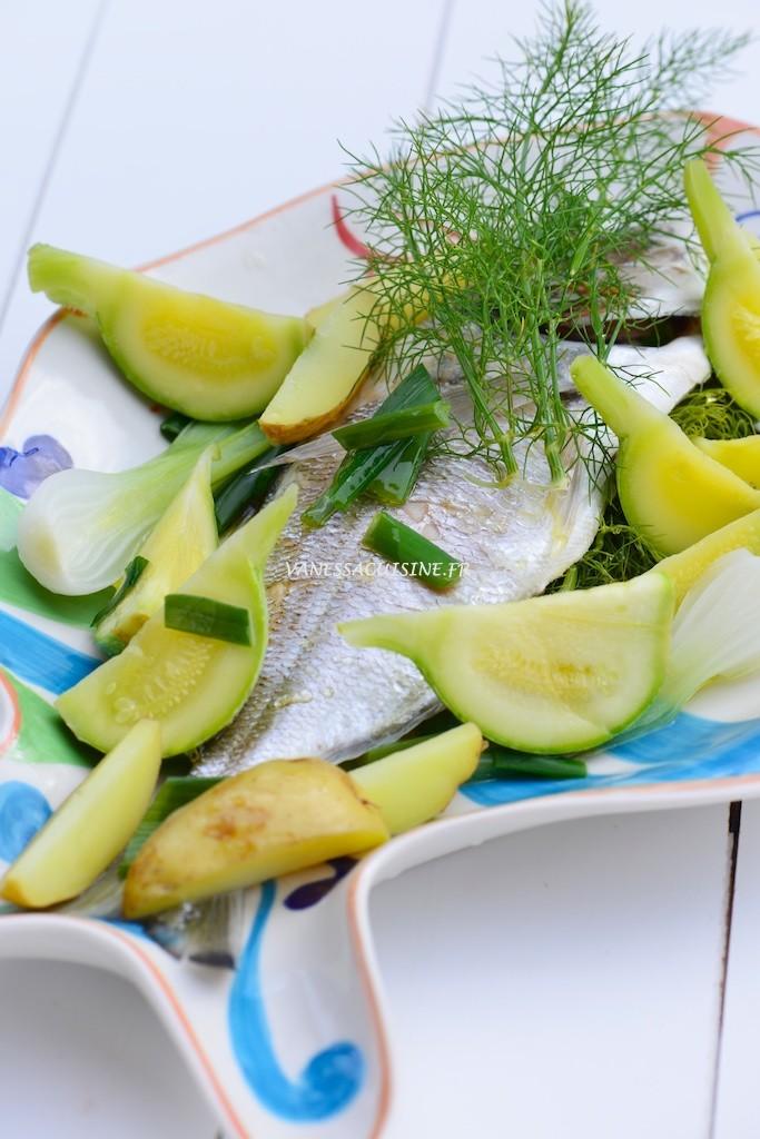 Dorade royale de petite pêche au fenouil sauvage  - Steamed bream with wild fennel - Le Vitaliseur -  Vanessa Romano photographe et styliste culinaire (2)