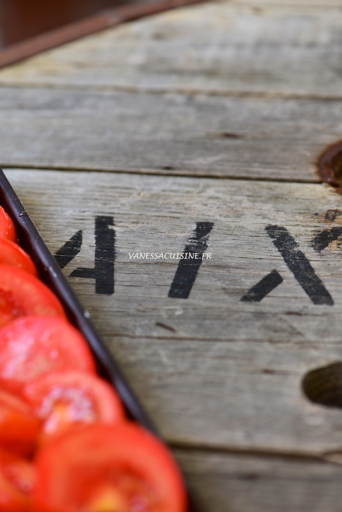Tomates confites au four - Roasted tomatoes  - Vanessa Romano photographe et styliste culinaire 1